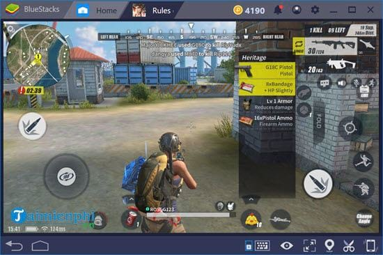 how to play mobile on bluestacks 4 15