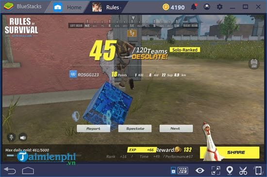 how to play mobile on bluestacks 4 16