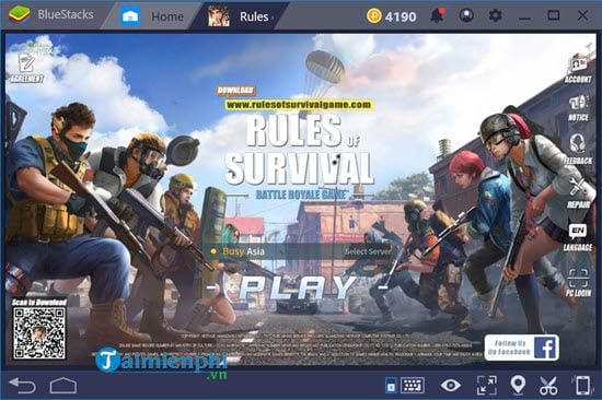 how to play mobile on bluestacks 4 8