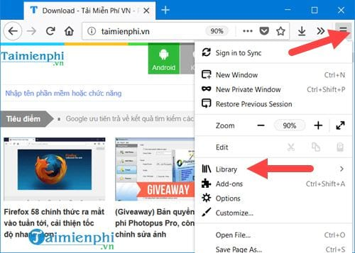 how to take a picture of firefox chrome web site page 2
