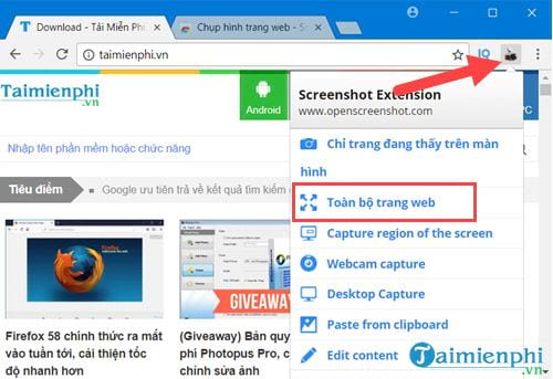 how to take a picture of firefox chrome website page 11
