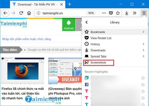 how to take a picture of firefox chrome state website page 3