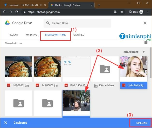 how to convert photos and videos from google drive to google photos 7