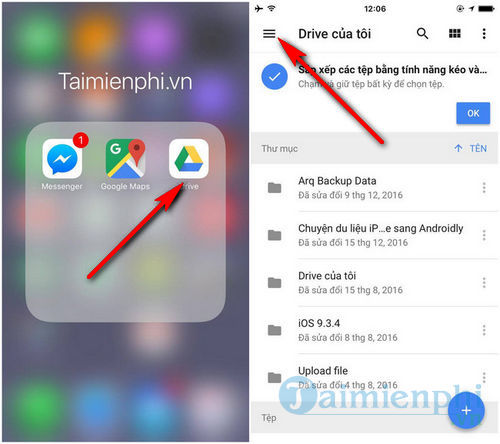How to convert iPhone data to Android using Google Drive