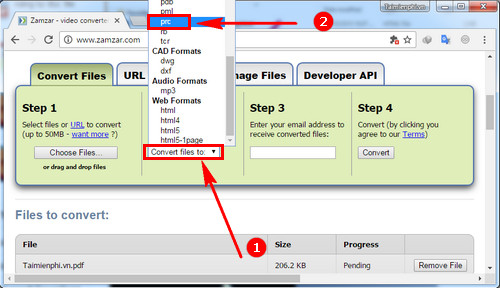 how to convert pdf file to prc fastest 3