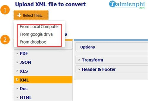 How to convert an xml file to a PDF without an online conversion 4