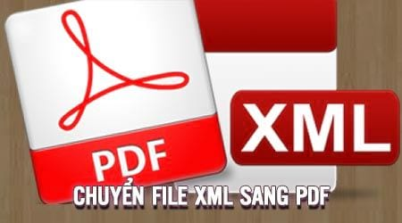 How to convert an xml file to a pdf does not require online conversion