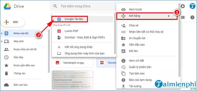 How to convert pdf to Google Drive using doc 4