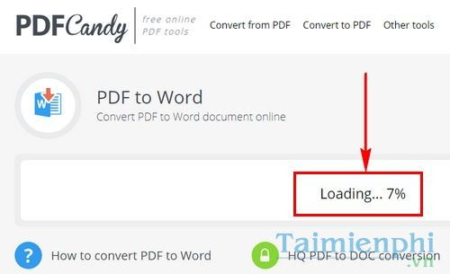 how to convert pdf to word bang pdf candy 5