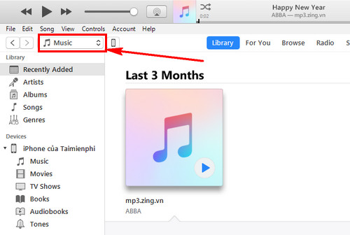how to copy a computer from a computer into an iphone ipad with itunes 3