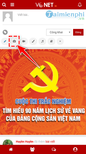 how to write vietnamese text images on vnet 5