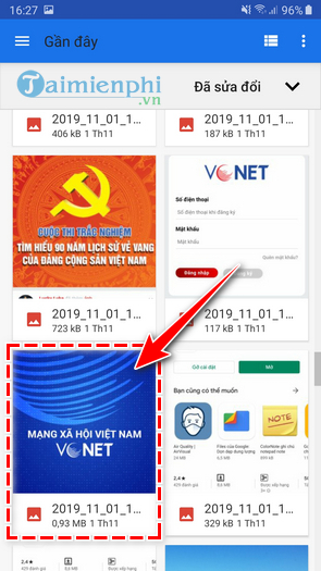 how to write vietnamese text images on vcnet 8