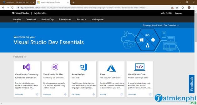how to register azure 8