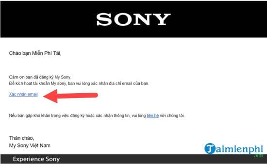 how to register an sony sony 5