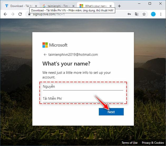how to create an onedrive account 5