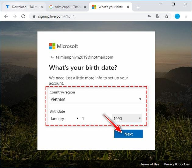 how to create an onedrive account 6