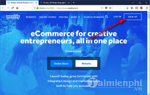 how to register weebly 2