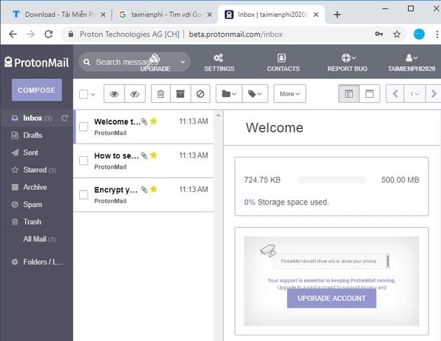 how to log in protonmail on a computer and a phone 4