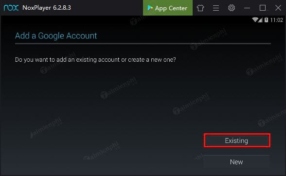 how to login to noxplayer 2