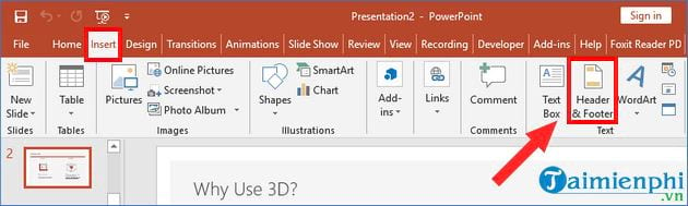 How to find a page in Powerpoint 2