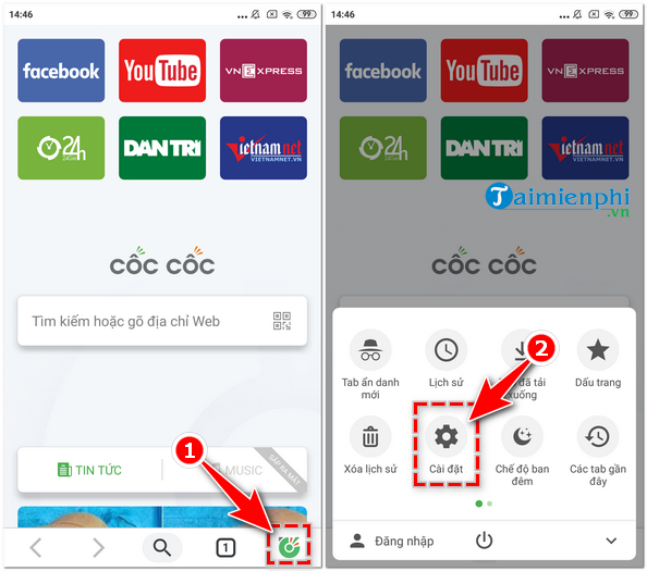 How to set Google search for mac root on coc 5