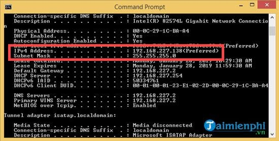 How to change the IP address for Windows 8 1 11