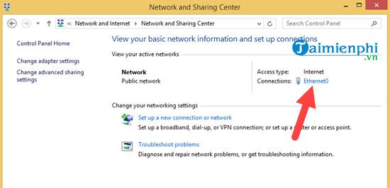 how to change ip address for windows 8 1 5