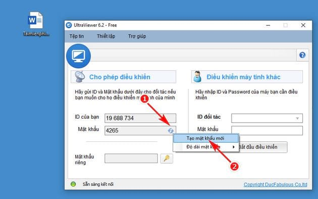 how to access the ultraviewer password 2