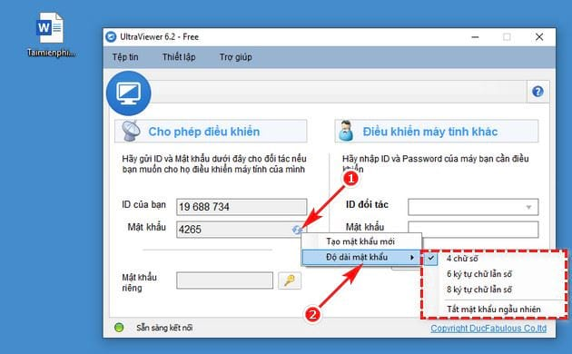 how to access the ultraviewer password 3