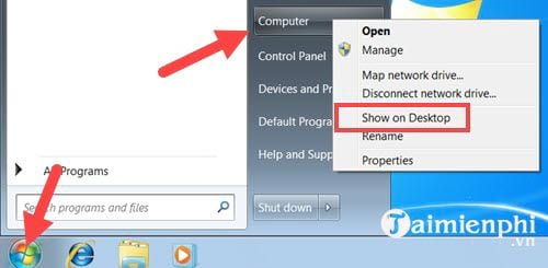 how to install this icon computer to create desktop windows 7 10 8