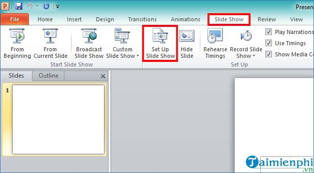 How to use the powerpoint slide 2 screen 7