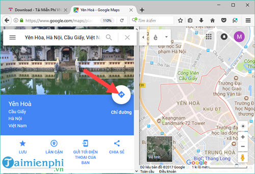 How to use Google maps quickly