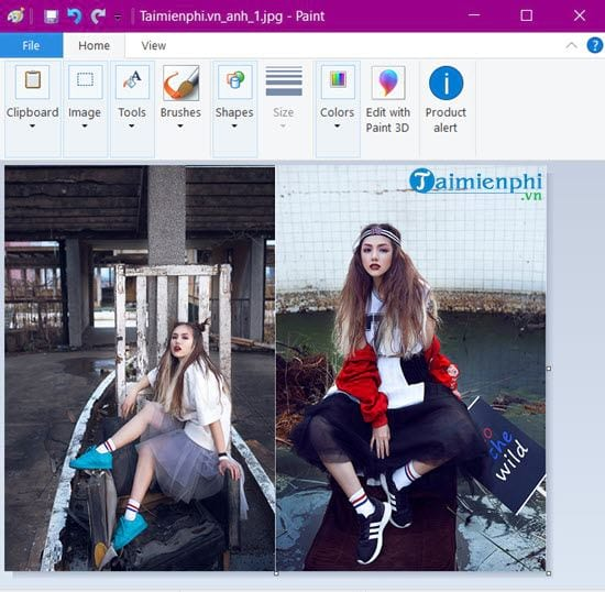 How to paint photos on Windows 10 12