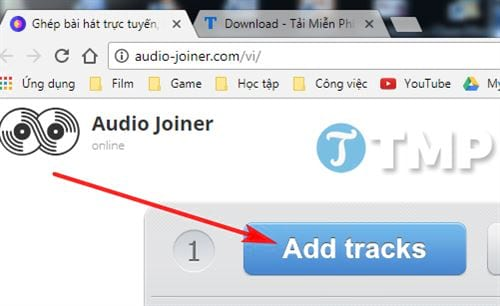 how to combine mp3 online truc tuyen don don 3