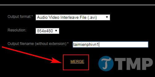 how to merge videos without installing mem 10