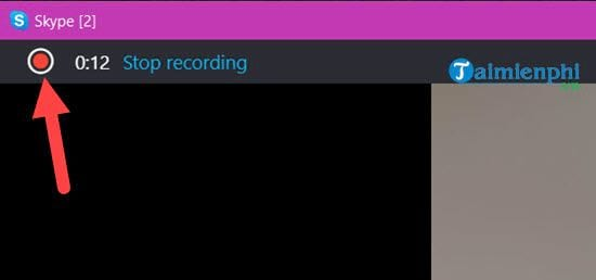 how to record a video call on skype 8