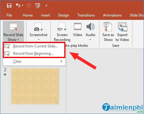 how to record powerpoint program 5