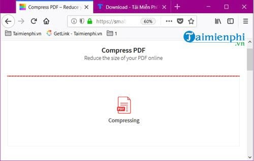 How to reduce the size of the pdf file online without using the mem 6 file