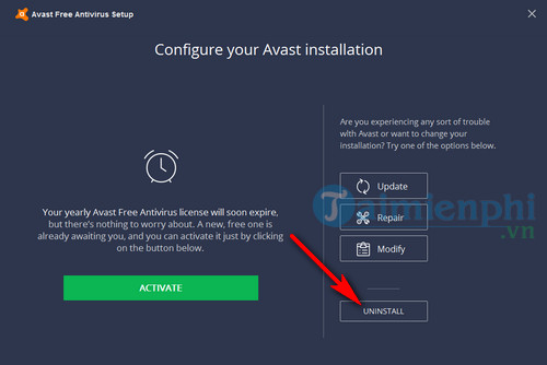 how to remove avast free antivirus from computer 4