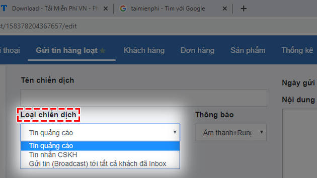 how to send message on facebook 3