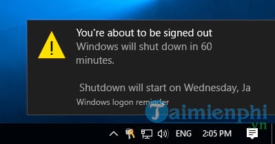 how to stop the computer on windows 10
