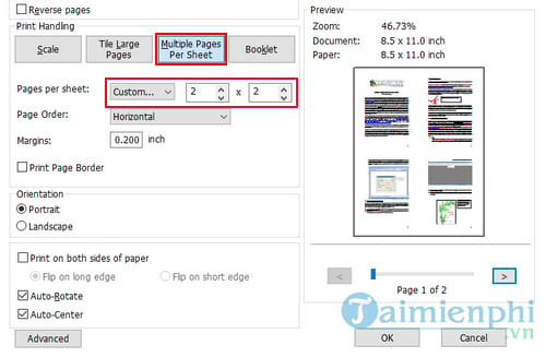 How to print PDF files with Foxit Reader and Adobe Reader 5