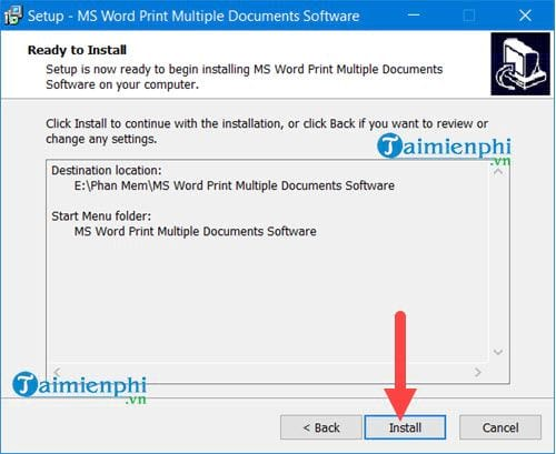 how to print multiple word files at the same time