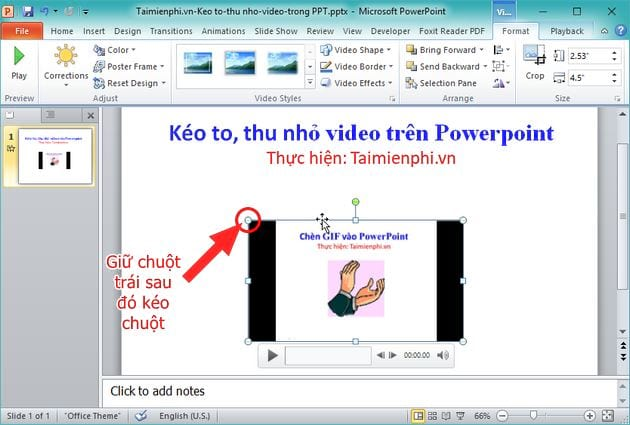 How to capture video on powerpoint video format 3