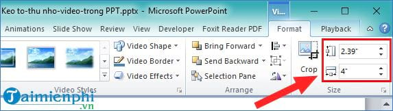 How to capture video on powerpoint video format 6