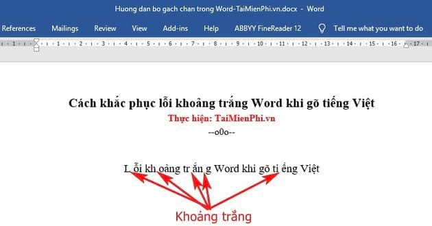 how to make mistakes of word layout when writing Vietnamese 2