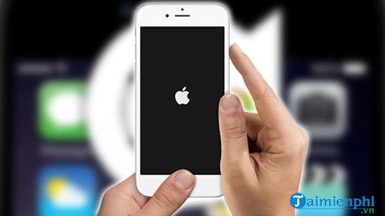 how to restart iphone 3