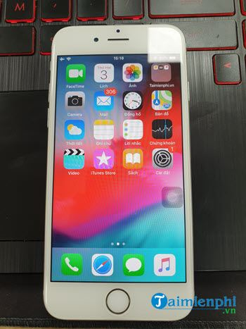 how to restart iphone 6