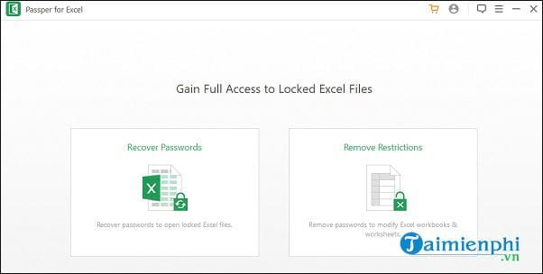 How to recover excel password with password 2