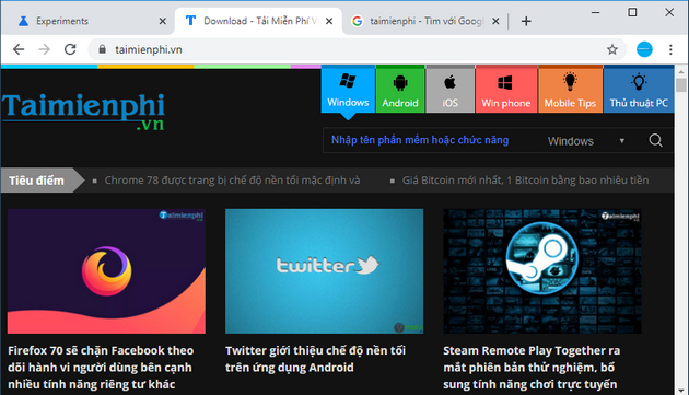 how to enable dark mode on chrome 5